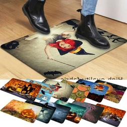 Fall Halloween Pumpkin Bathroom Kitchen Anti-Slip Floor Mat