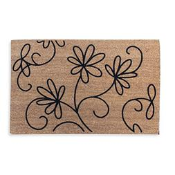 A1 Home Collections First Impression Doormat, Jasmine Coco F