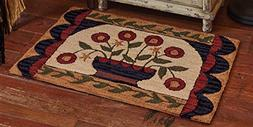 Park Designs Flower Basket Hooked Rug, 24 x 36""