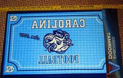 Football Team Sports America NORTH CAROLINA Embossed Door Ma