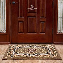 Front Door Mat Welcome Doormat for Home, Indoor, Entrance, K