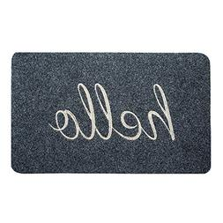BIGA Hello Large Front Welcome Entrance Door Mats for Indoor
