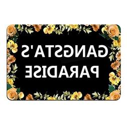 funny text doormat floor mat