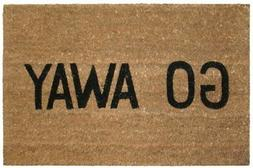 Kempf Go Away Doormat, 16 by 27 by 1-Inch , New, Free Shippi
