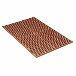 "Apache Mills Grease Proof Drainage Mat, Red, 36 x 60"", Lot o"