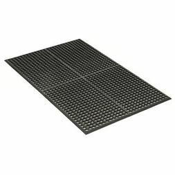 """Apache Mills Grease Resistant Drainage Mat, Black, 36 x 60"""""""