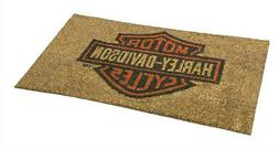 Harley-Davidson® Bar & Shield® Coconut Entry-way Door Mat