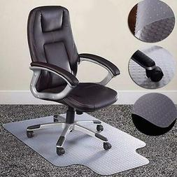 "Hot 36""x48""Chair PVC Floor Mat Home Office Studded Back with"