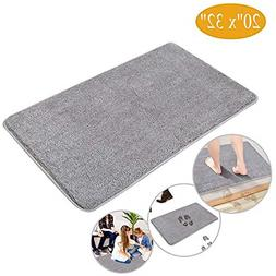 Indoor Doormat Front Door Mat - Non Slip Rubber Backing Supe