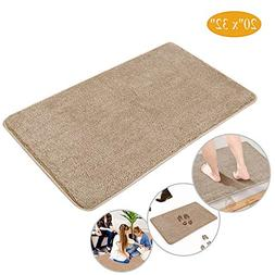 Indoor Doormat Super Absorbent Mud Mat , Magic Step Clean Do
