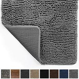 Gorilla Grip Original Indoor Durable Chenille Doormat,  Abso