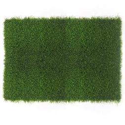 Indoor/Outdoor Green Door Mat Welcome Rug Carpet Area Entran