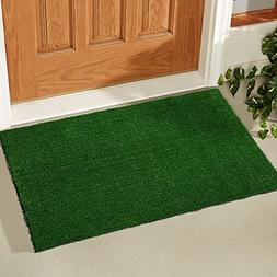 indoor outdoor green door mat welcome rug