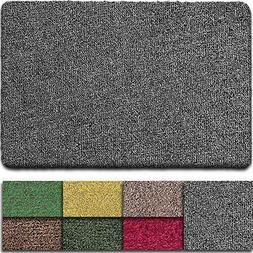 "Indoor Super Absorbs Mud Doormat 36""x24"" Latex Backing Non S"