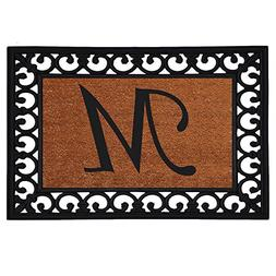 "Home & More 180041925M Inserted Doormat, 19"" X 25"" x 0.60"","