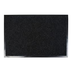 J&M,  Utility Doormat, Heavy Duty, Ribbed and Waterproof, 24