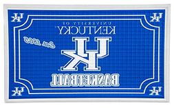 Team Sports America Kentucky Wildcats Embossed Floor Mat, 18