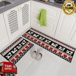 Kitchen Mat Rubber Latex Backing Doormat Runner Non Slip Rug