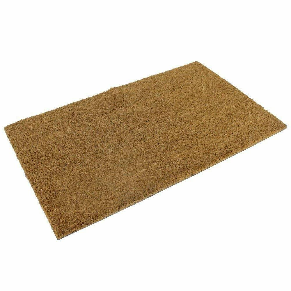 Coco Coir Doormat with vinyl Made of Natural Coco Fiber