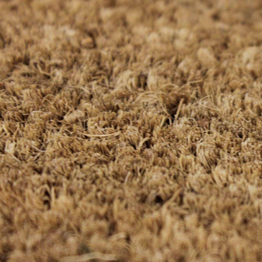 Coco Coir Doormat vinyl backing Made of Natural Coco