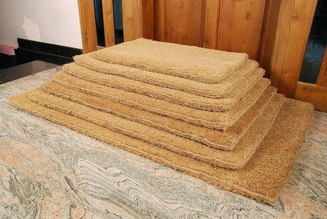 KEMPF 1310 36 in. x 60 in. Plain Coco Mats - Plain