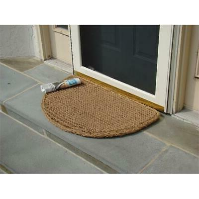 KEMPF 1404 18 in. x 30 in. Half Round Dragon Coir