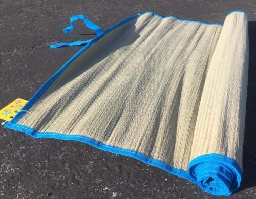 2 straw mat Fresh Yoga Outdoor Camping colored trim home flo