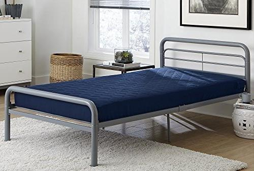 DHP 6-inch Quilted Mattress, Perfect for Bunk Beds, Daybeds,