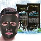 Men Black Mud Face Mask Blackhead Remover Deep Cleansing Pee