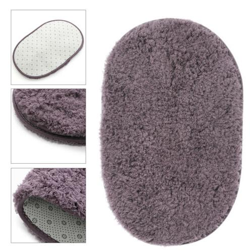 Absorbent Soft Bathroom Floor Mat Non-slip Bath Rug
