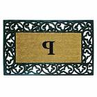 Creative Accents Acanthus Border with Rubber/Coir Doormat, 2