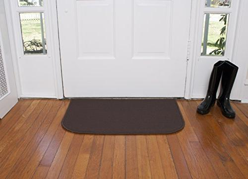 Ritz Resistant Kitchen Floor with Non Latex Backing, 18-inch by Chocolate Brown