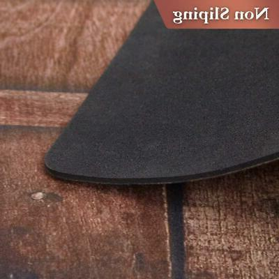 AMAGABELI & HOME Rubber Doormat Low Profile Non-Slip Washable