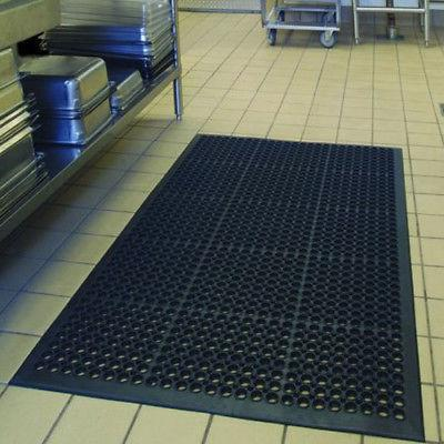 "Anti-Fatigue Floor Mat x 60"" Cushion Heavy Black Color"