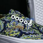 VANS AUTHENTIC PAISLEY DRESS BLUES MENS 8 SKATE SHOES /era c