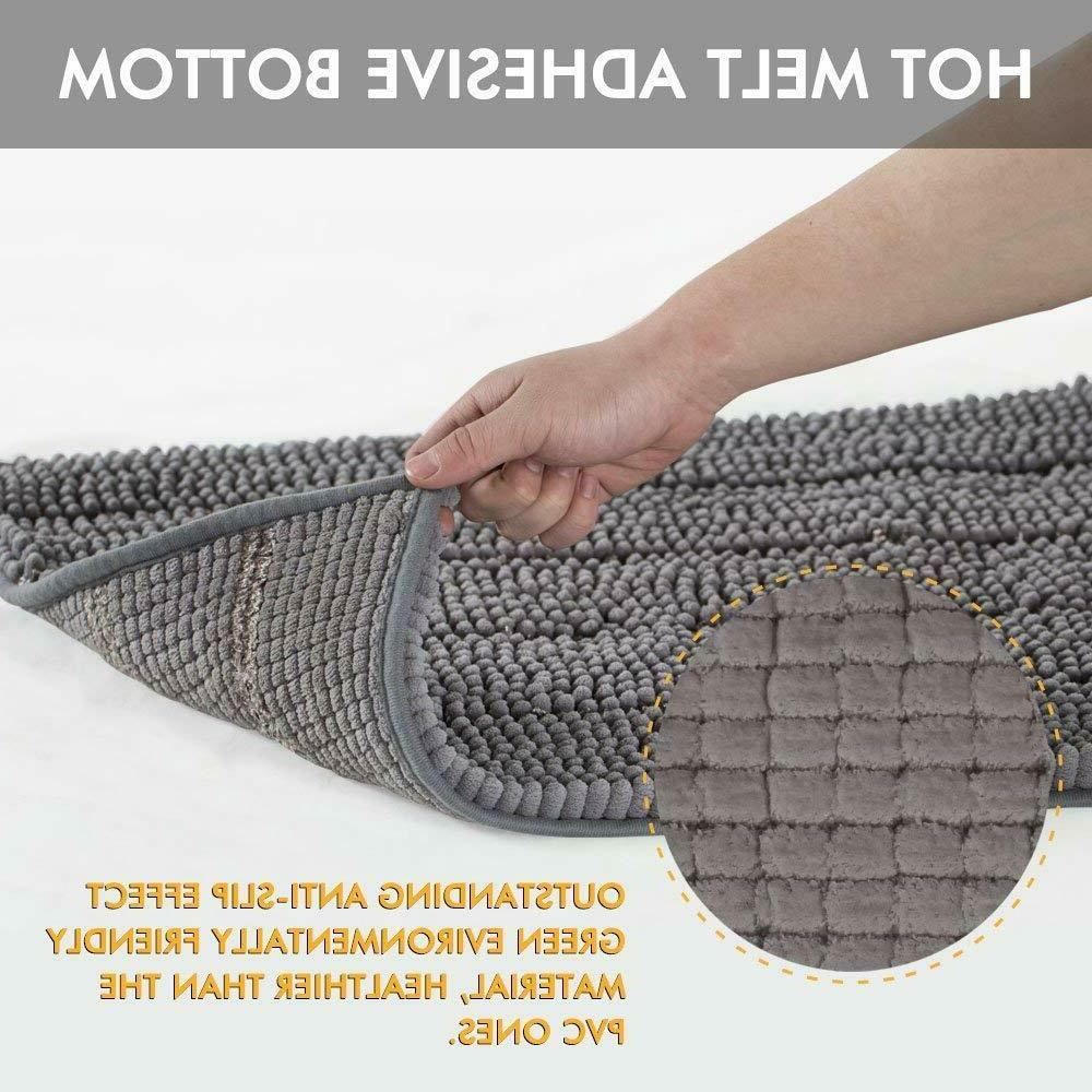 Bath Slip Soft Absorbent Bathroom Shower Rug Carpet Machine