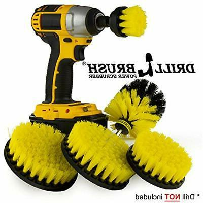 bathroom accessories drill brush cleaner shower door