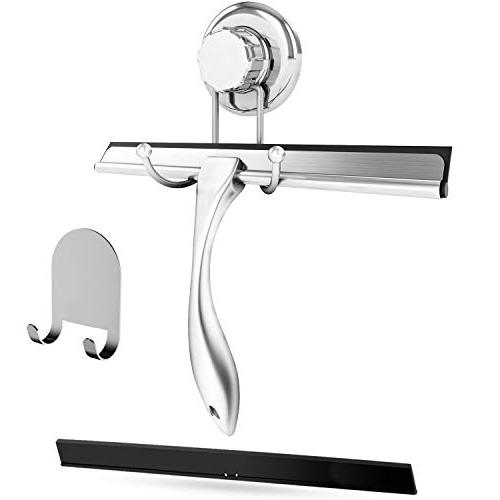 bathroom shower squeegee chrome plated