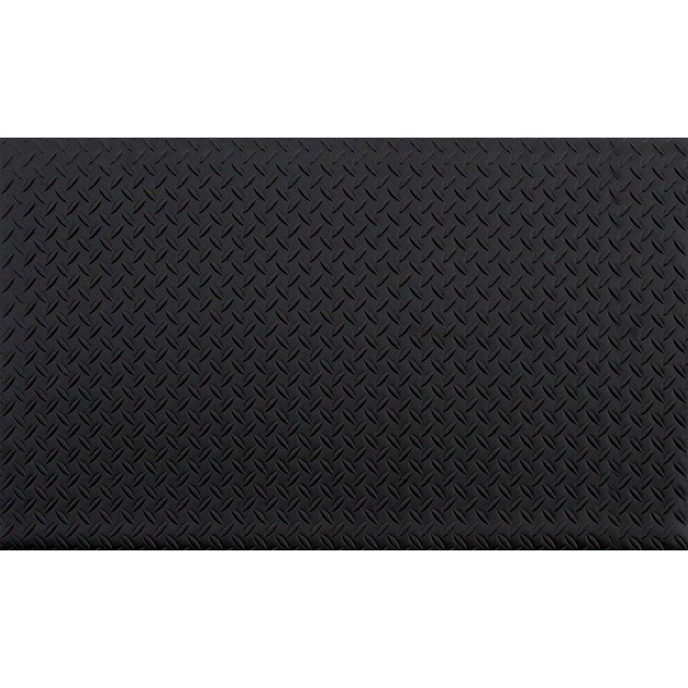 black anti fatigue vinyl foam