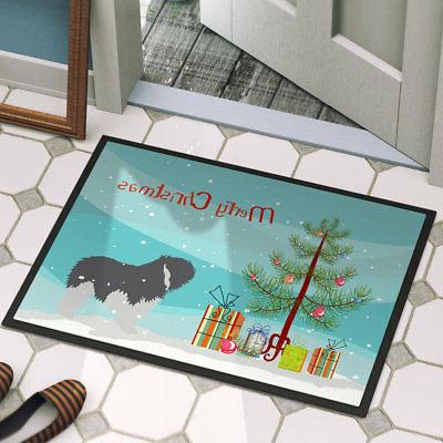 Caroline's Treasures Polish Lowland Sheepdog Door Mat
