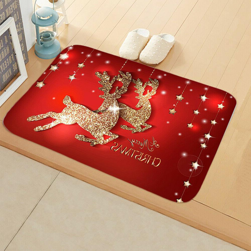 Christmas Santa Door Outdoor Rug Home Decor