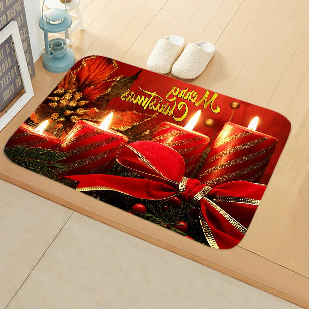 Christmas Claus Door Carpet Decor