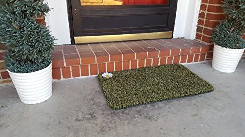 GrassWorx Clean Doormat, Medium,