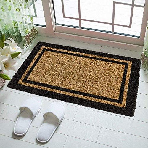Kempf Coco Outdoor with Black Border Keep Your Clean - Guests With Heavy Doormats