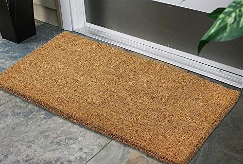 Kempf Natural Doormat, 36-inch by 72-inch, 1""