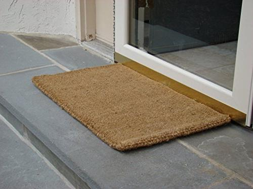 "Kempf Coco Coir Doormat, 1"" Low Clearance"