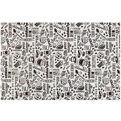 coffee java maker mat 12 inch x