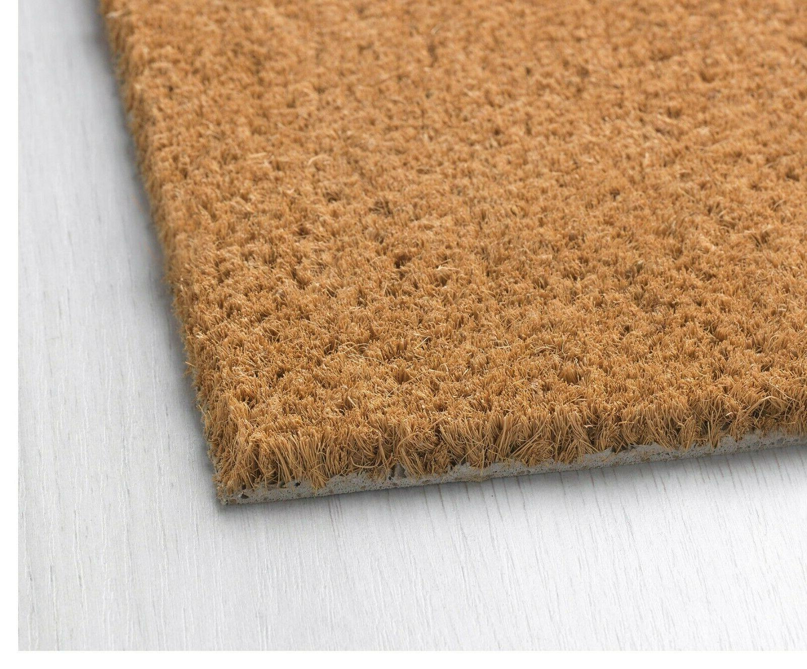 Coir Door Entry Doormat Not Police