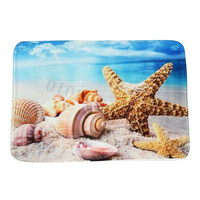 Conch Kitchen Beadroom Non Carpet Floor Mat Pad