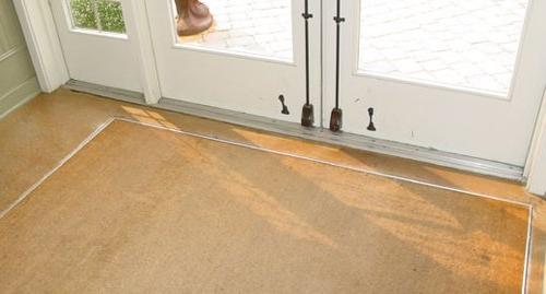 """Kempf cut 1/2"""" inch Thick mat with backing , great for entrances"""